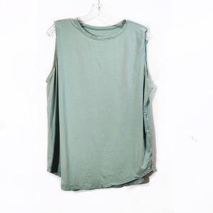 Lululemon Mint Green Sleeveless Tank Top Sz Large